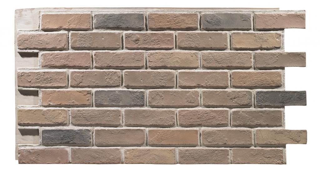 Rustic Colonial Tan Brick Panels