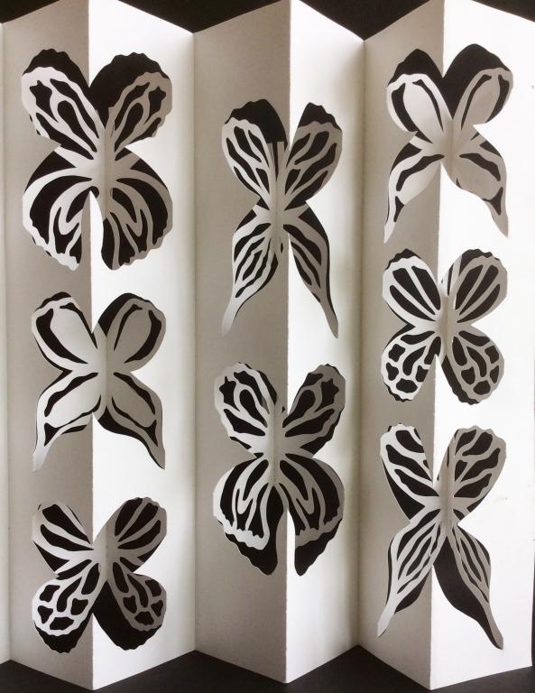 Paper Pop-Out Art