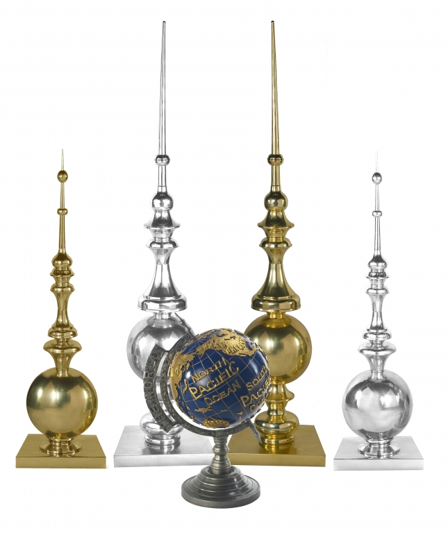 Finials and Globes