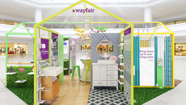 Wayfair Launches Holiday Pop-ups