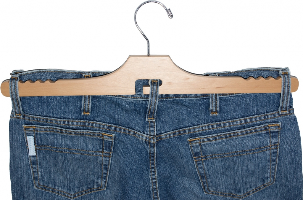 Specialty Wooden Jeans Hanger