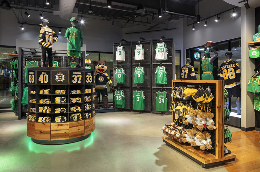 "VMSD 2020 International Visual Competition – First Place: ""Boston ProShop Powered by '47"""