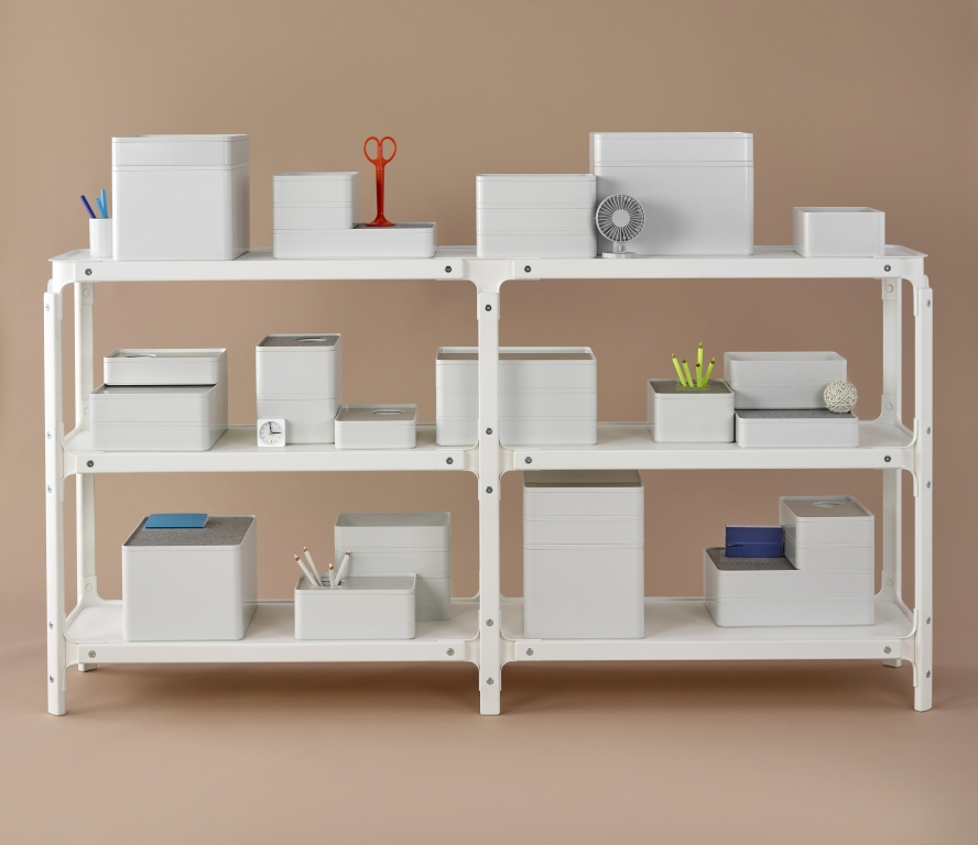 Steelwood Shelving System