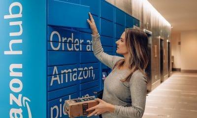 Amazon hub-locker