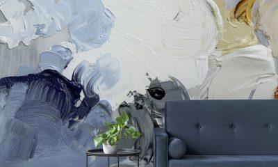 Astek's Ephemeral digital printed wallcovering
