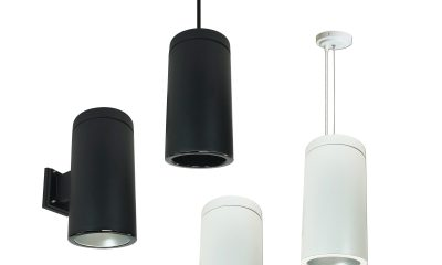 Nora Lighting Cylinder Pendents Now Feature Four Mounting Options