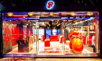 Paint It Black at the Rolling Stones' First Flagship Store in London