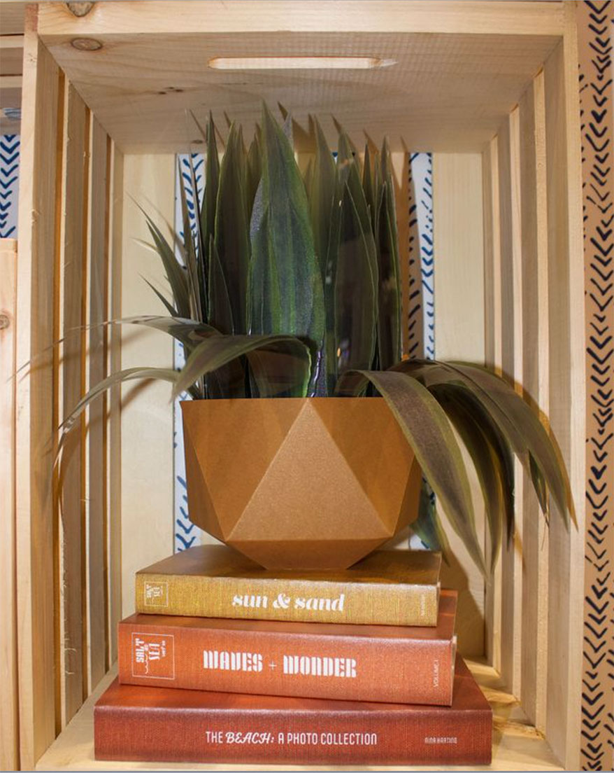 Faux Printed Plants from Ace Designs