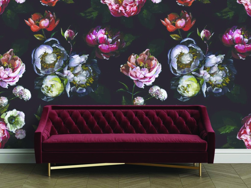 Moody Bloom Temporary Wallpaper by Tempaper