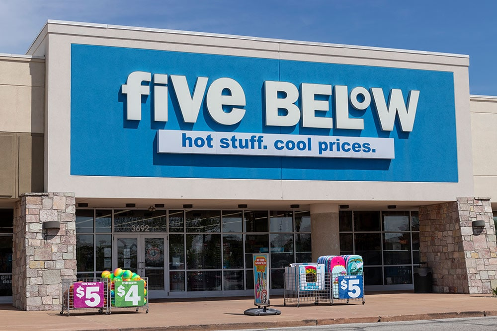 Five Below to Expand Higher-Price Concept
