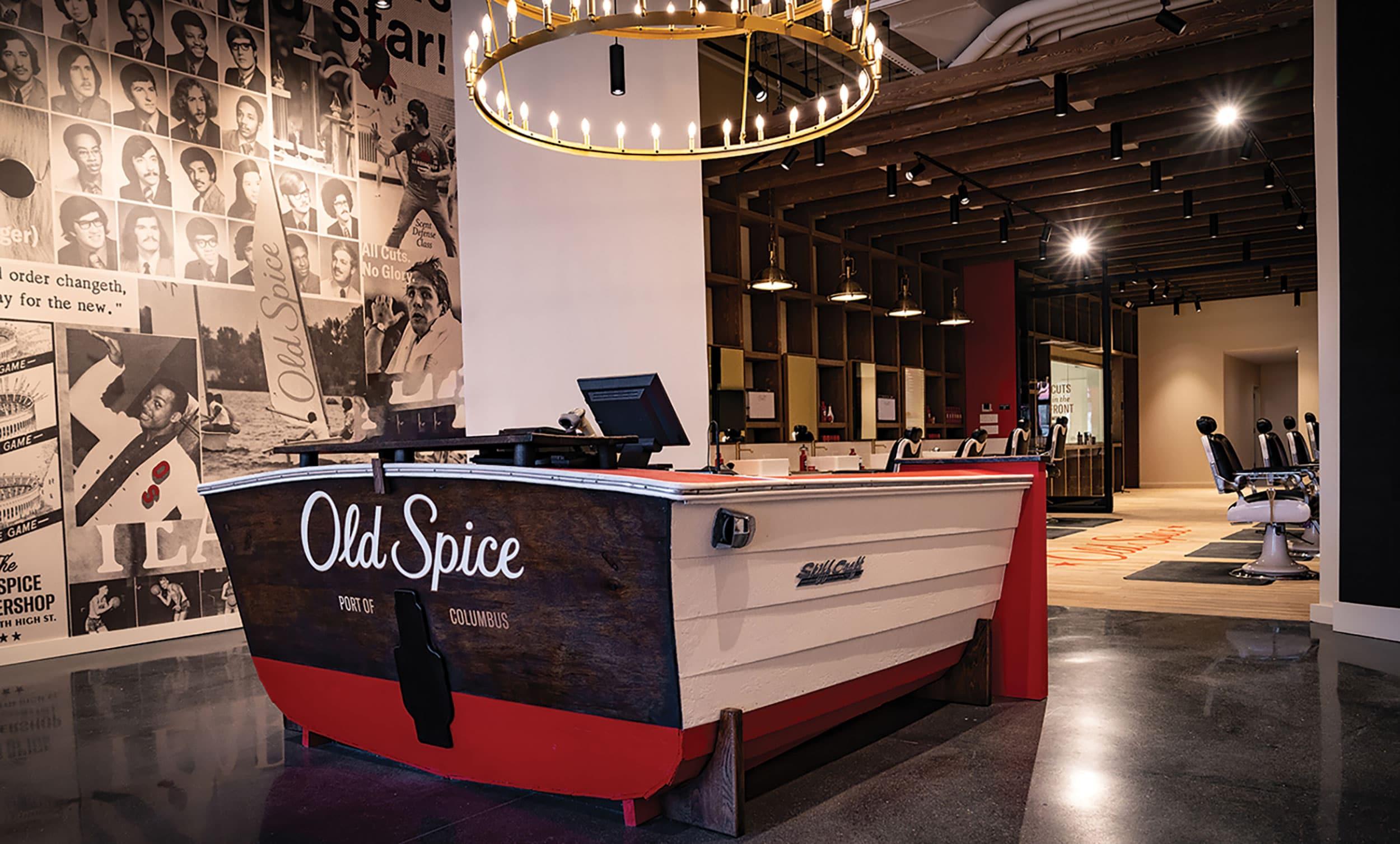 Portfolio: Old Spice Barbershop, Columbus, Ohio