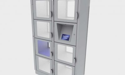 Locker-System_silver-with-blue-light_left-facing_02-22-2021
