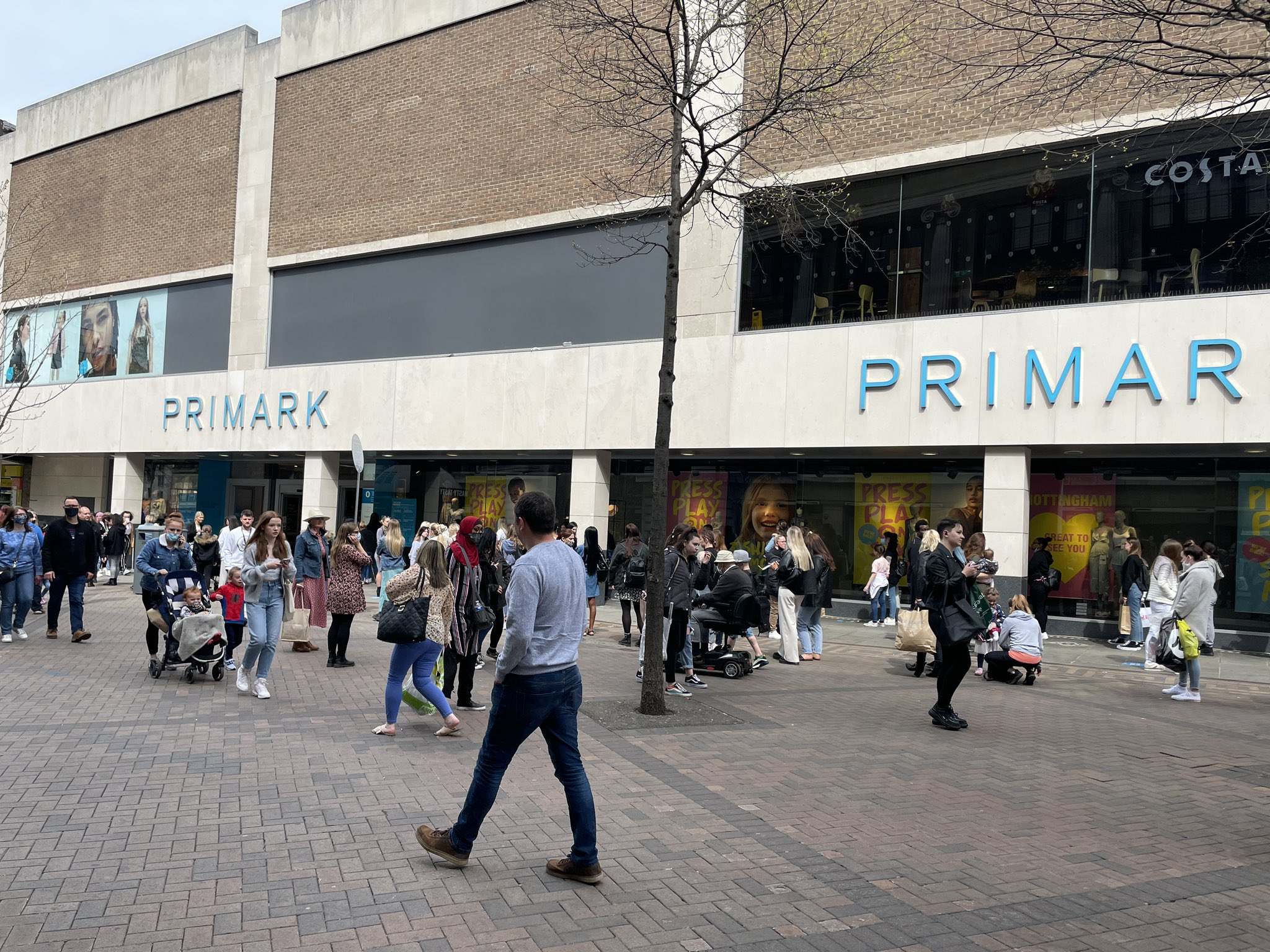 Primark Shoppers Literally Stripping Off in Store to Try on Clothes