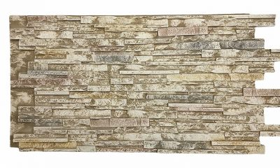 Texture Plus Cliff Stone Select Faux Wall Panels