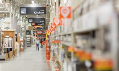 Home Depot Opens Distribution Centers