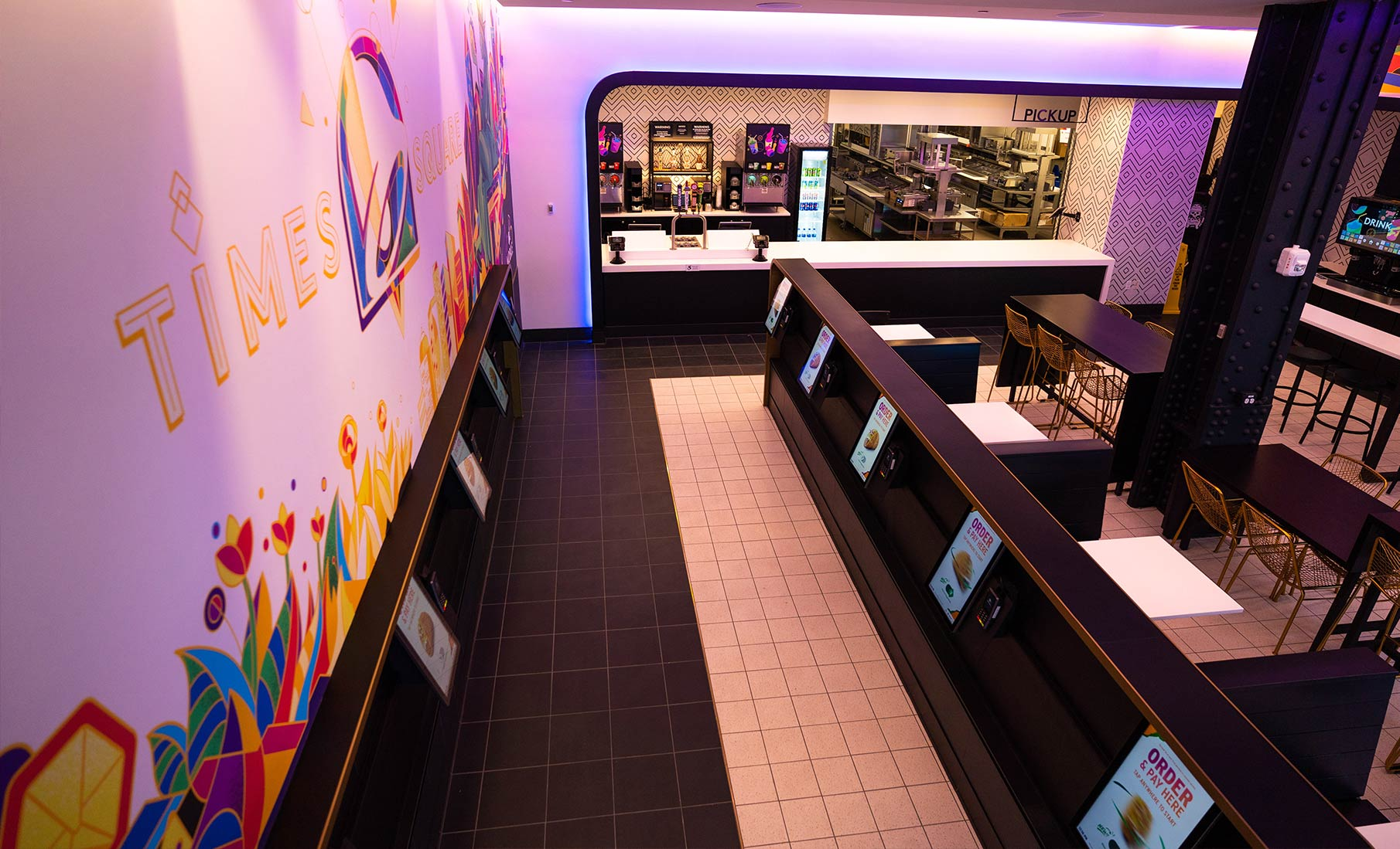 Taco Bell Unveils Digital-Only Times Square Store