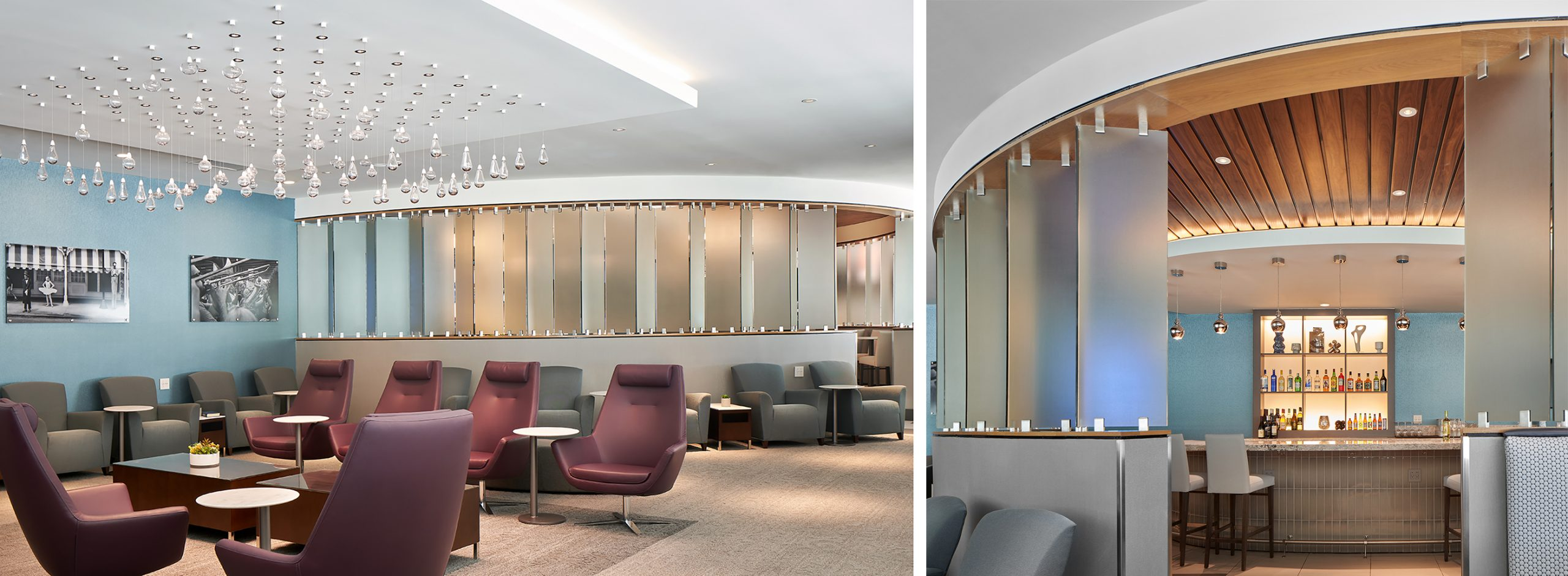 The Club at New Orleans' MSY Airport Designed with Weary Travelers in Mind