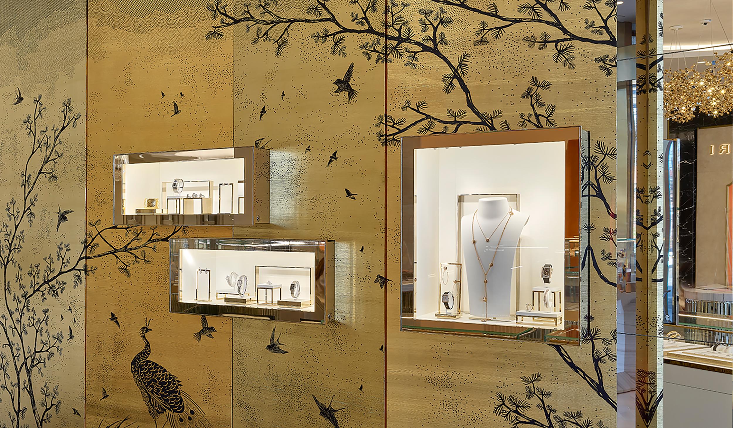 New York's London Jewelers Evokes Paris with Renovation
