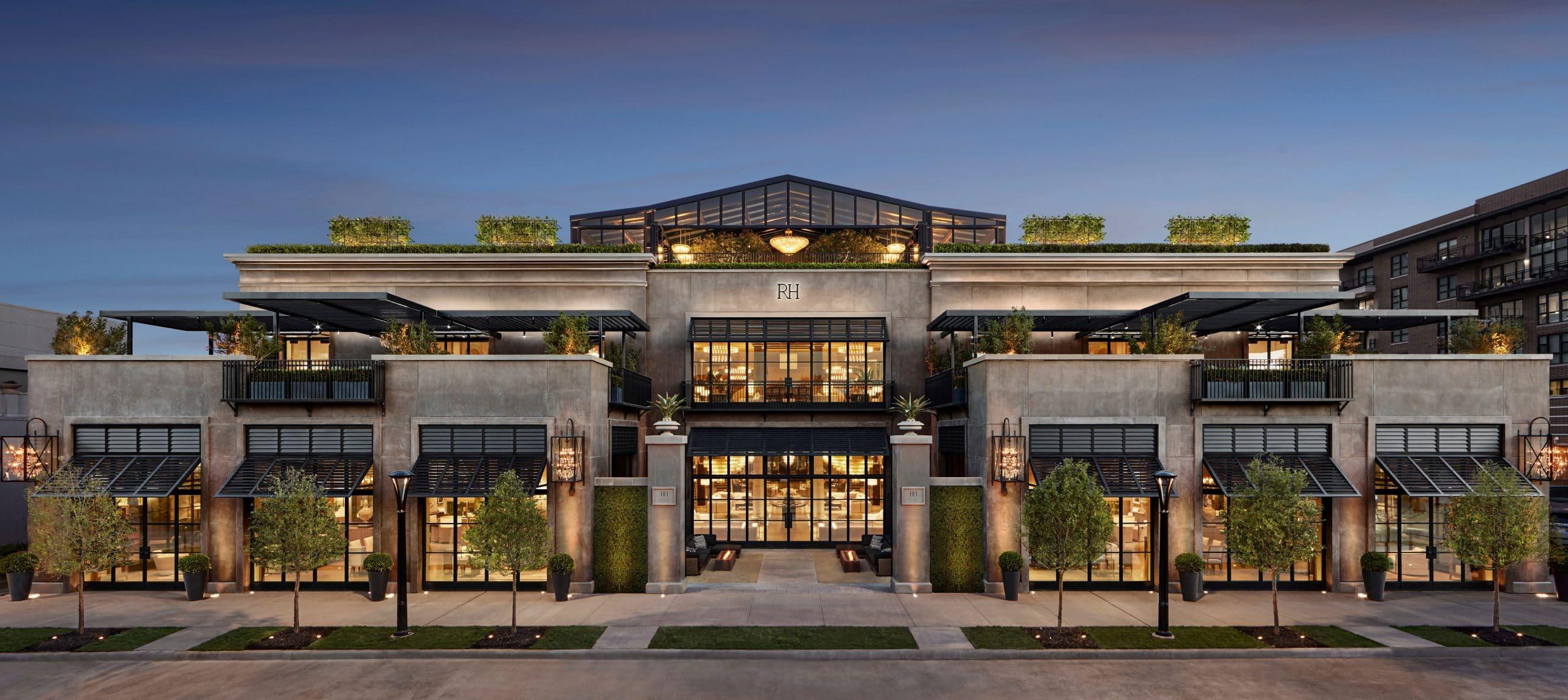 Restoration Hardware Opens Massive, 3-Level Store in Dallas
