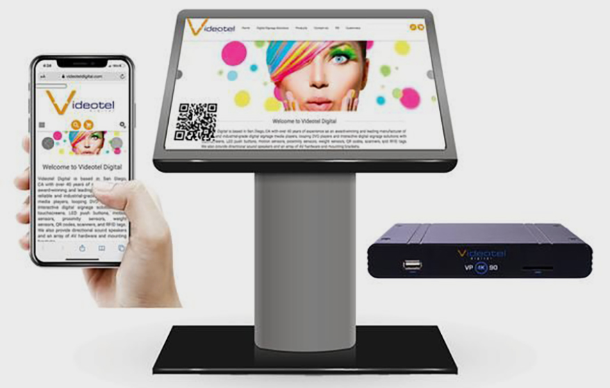 Videotel Digital Launches Hands-Free Screen Control