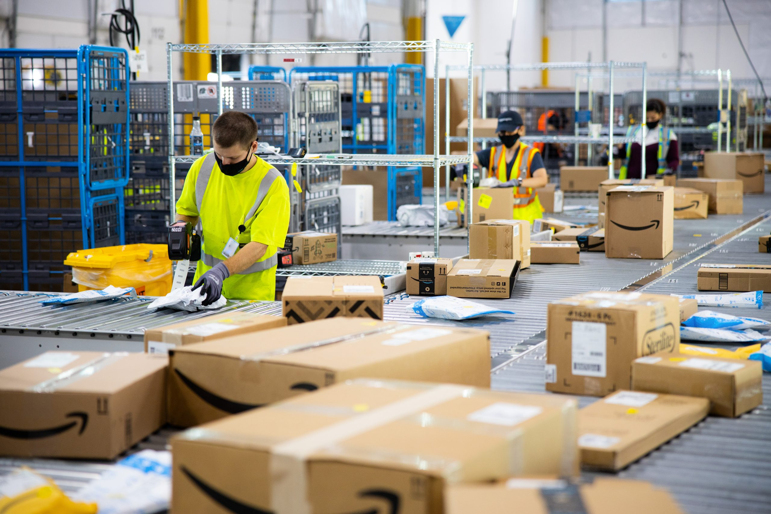 """Amazon """"Under Siege"""" as New Boss Takes Over for Jeff Bezos"""