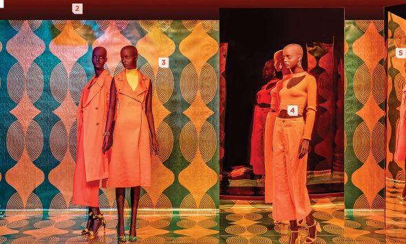 Macy's Honors Black History Month with Illusory Window Display