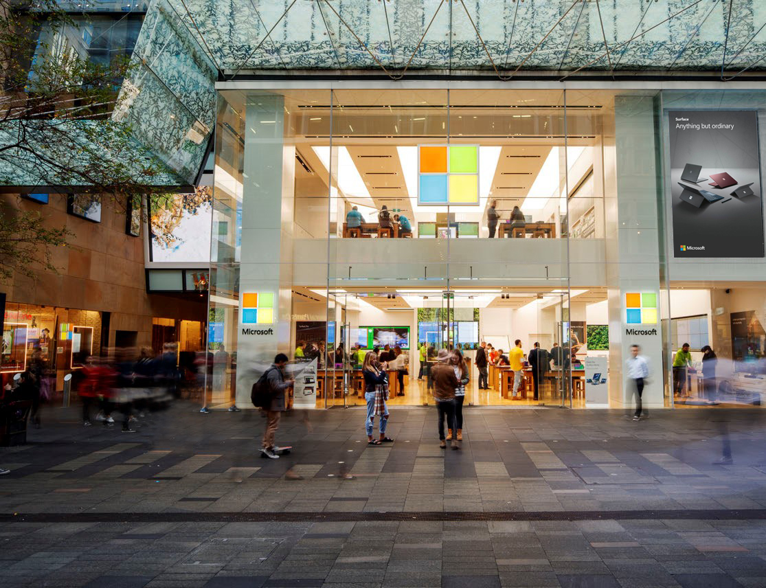 Microsoft to Start Selling Products at Experience Centers