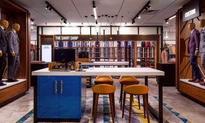 New Men's Wearhouse Layout Seizes on Latest Trends in Visual Merchandising