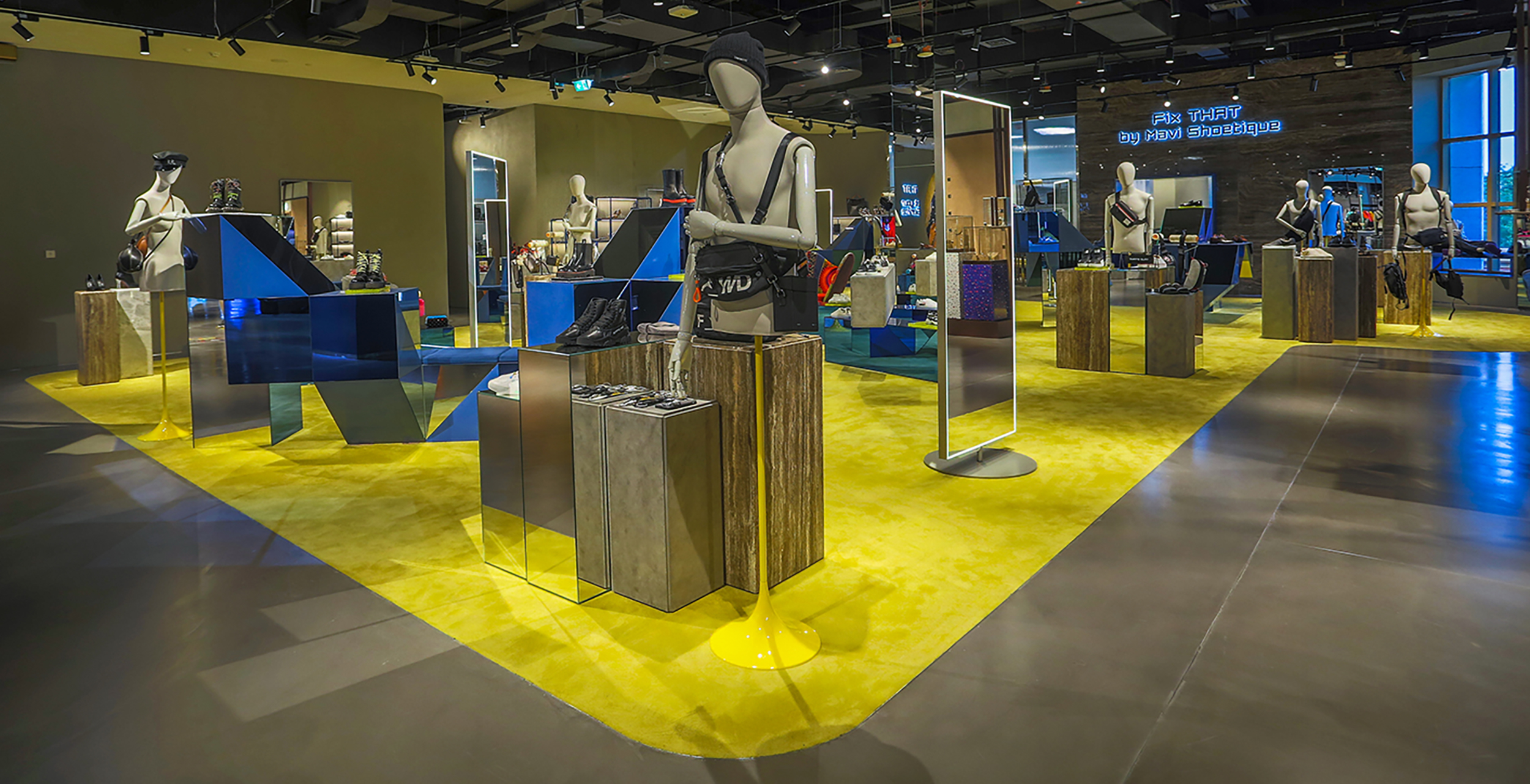 Dubai's THAT Concept Store is a one-stop destination for Dubai's fashionistas and trendsetters.