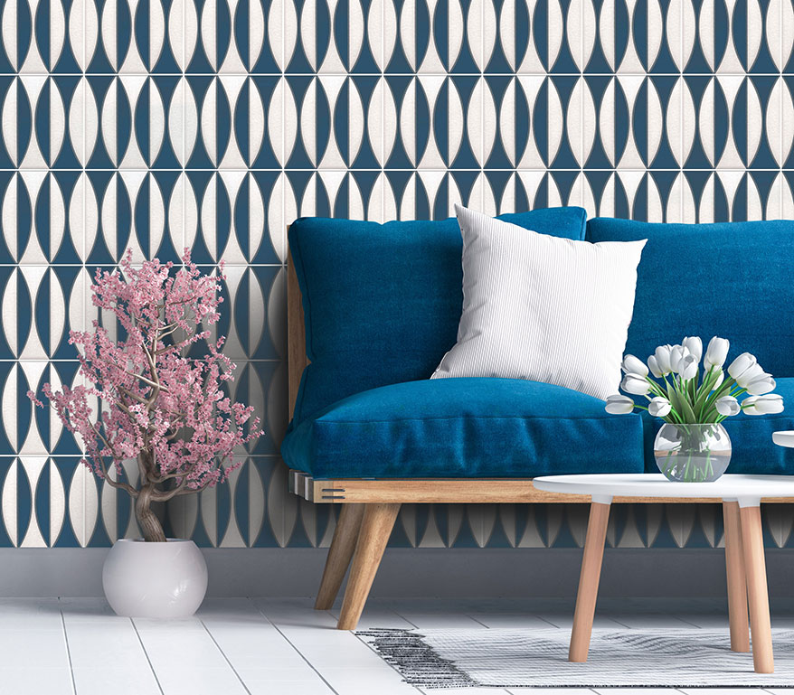 Imagine Tile Inc.'s Surfboards Ceramic Wall Tile Collection