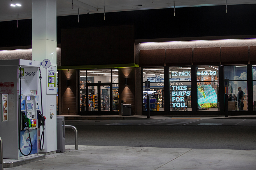 LG's 14mm Transparent LED Film Turns Windows into Digital Signage