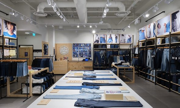 Levi's Shifts VM Strategy for Bigger Focus on Jeans