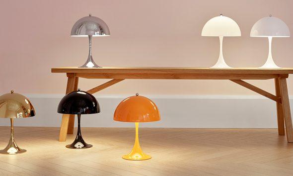 Louis Poulsen's Panthella Table Lamp