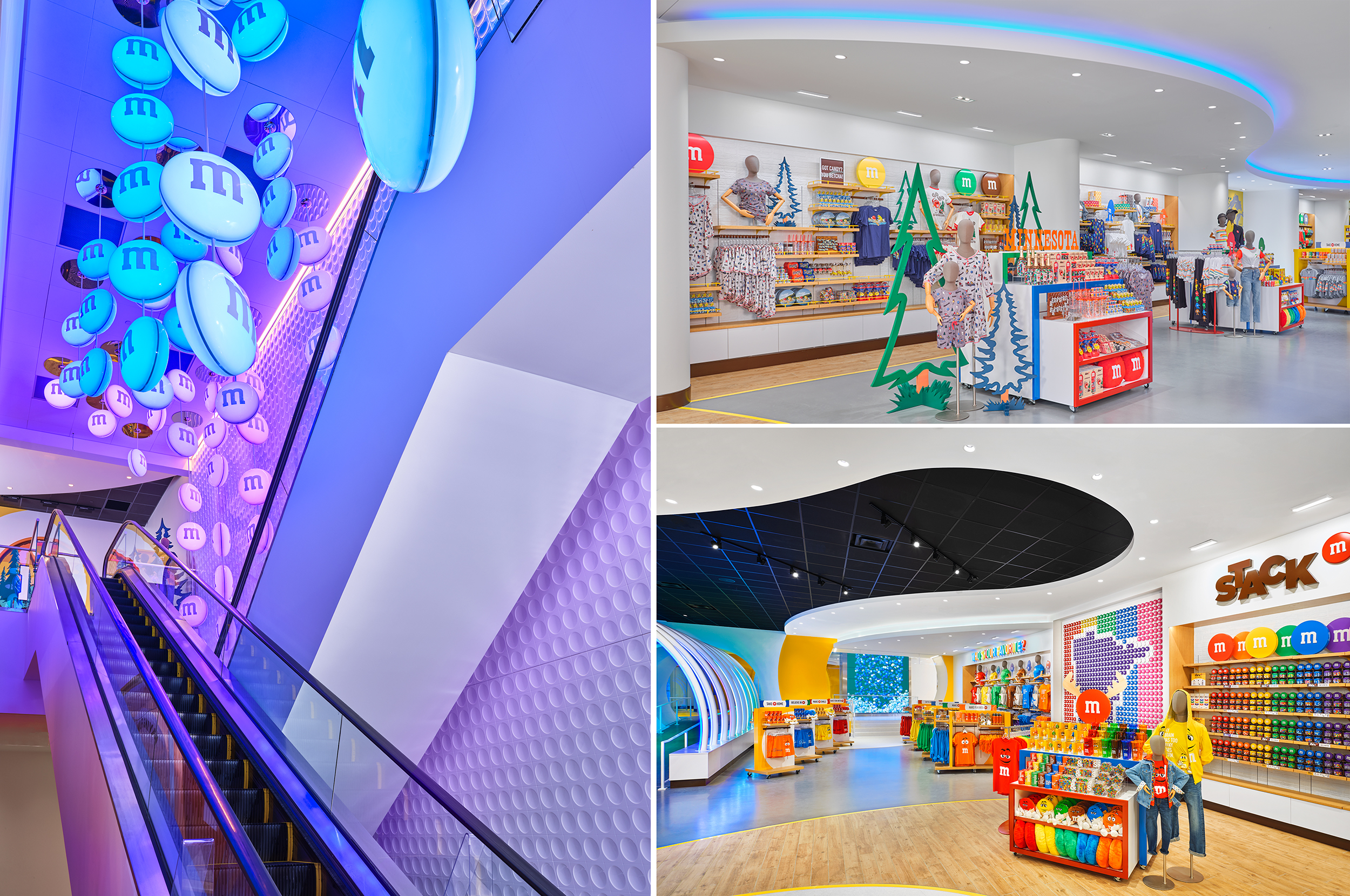 Visitors are invited to immerse themselves in the 24,000- square-foot space that captures the brand's joyful spirit.