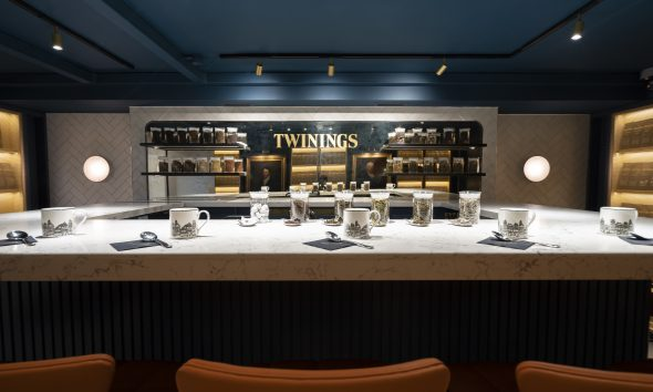 """2021 Retail Renovation of the Year: """"Twinings Flagship Experience"""""""
